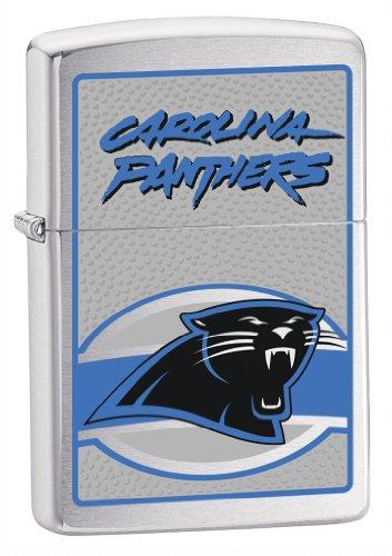 Carolina Panthers Nfl Starter (Zippo NFL Carolina Panthers Lighter (Silver, 5 1/2 x 3 1/2 cm))