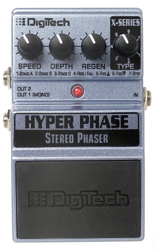 Digitech XHP Hyper Phase 7-mode Phaser Guitar Pedal