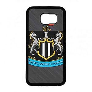 Cell caja del teléfono Fit Samsung Galaxy S6 Newcastle United Skin caja del teléfono,FC Skin caja del teléfono