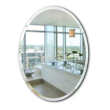 Espejos ovalados de Pared, Espejo Moderno para maquetas ...