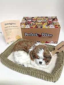 Amazon.com: Perfect Petzzz Huggable Breathing Puppy Dog