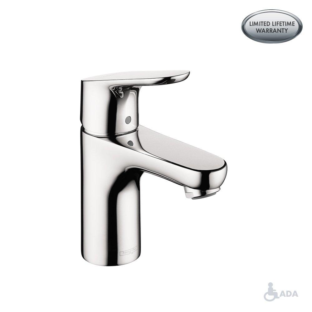 Hansgrohe 4371000 Focus Bathroom Faucet, 2.75 x 7.48 x 21.46 inches ...