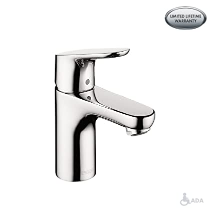 Outstanding Hansgrohe Focus Modern 1 Handle 7 Inch Tall Bathroom Sink Faucet In Chrome 04371000 Download Free Architecture Designs Intelgarnamadebymaigaardcom