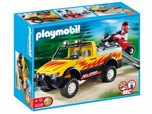 (Pick-Up Truck with Quad Bike by Playmobil)