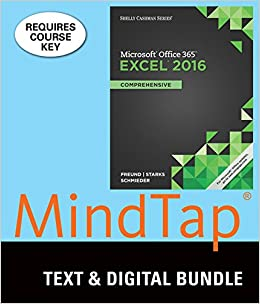 Bundle: Shelly Cashman Series Microsoft Office 365 & Excel 2016: Comprehensive + MindTap Computing, 2 terms (12 months) Printed Access Card