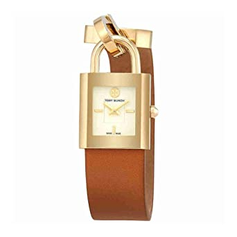 82c07d59e03 Tory Burch Surrey Dial Brown Leather Watch  Amazon.co.uk  Watches