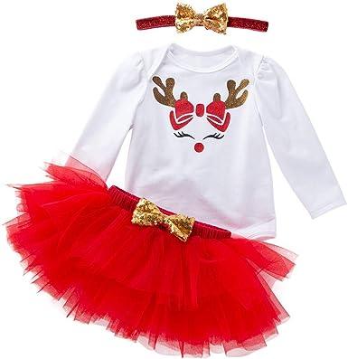 Navidad Mameluco + Falda de Tutú Traje de Mono Falda, Lonshell ...