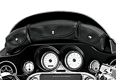 Electra Glide Classic//Standard//Ultra Classic//Ultra Limited Street Glide 96-13 Windshield Bag Craftride for Harley Davidson CVO Electra Glide Ultra Classic CVO Street Glide