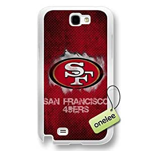 NFL San Francisco 49ers Team Logo Diy For Iphone 5/5s Case Cover Transparent Hard Plastic - Transparent