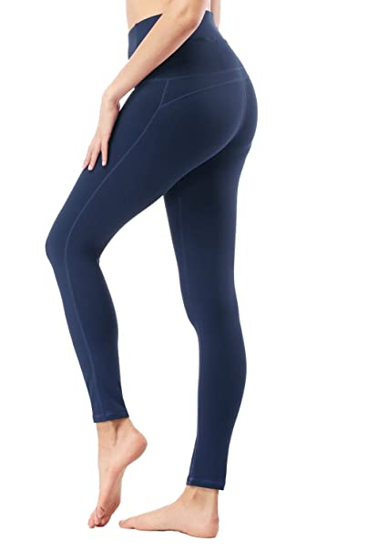 Amazon.com: Tsuretobe Pantalones de yoga de cintura alta ...