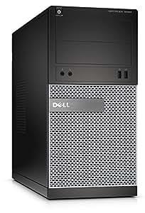 Dell OptiPlex 3020 MT - Ordenador de mesa (Intel Core-i3 4150, 3,5 GHz, 8GB RAM, disco duro de 500 GB, DVD, Win 7 Pro), color negro