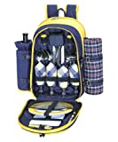 Sutherland Baskets Picnic Backpacks for 4 Canyon, Outdoor Stuffs