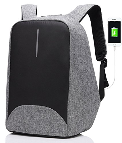 Laptop Backpack- Laptop/Notebook Backpack with USB Charging Port Water Resistant Backpack School Bookbag for College Travel Backpack,15 inch backpack by Tomato eg