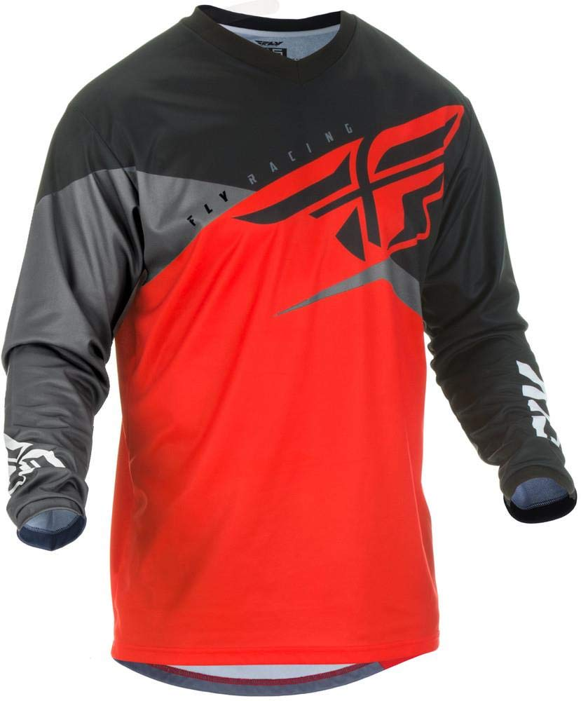 Fly Racing 2019 F-16 Jersey (XX-Large) (RED/Black/Grey) by Fly Racing