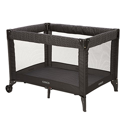 Cosco Deluxe Funsport Play Yard, Black Arrows, used for sale  Delivered anywhere in USA