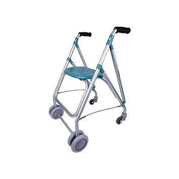 Forta fabricaciones - Andador de aluminio para ancianos ARA-PLUS - Esmeralda