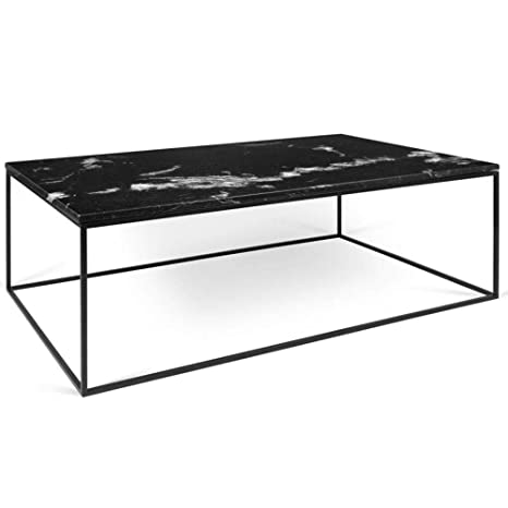 Temahome Table Basse Rectangulaire Gleam 120 Plateau En