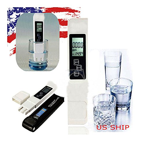 3in1 Digital LCD TDS EC Water Quality Meter Tester Filter Purity Pen Stick PPM by Unknown