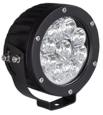 CSI W4892 High Performance LED Flood Light, Round, 4.75""