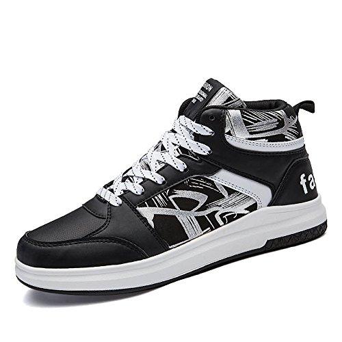 Sneaker shoes And Shufang White Black Uomo pOgzq