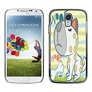 Dragon Case - FOR Samsung Galaxy S4 - Seeing is believing - Caja protectora de pl??stico duro de la cubierta Dise?¡Ào Slim Fit