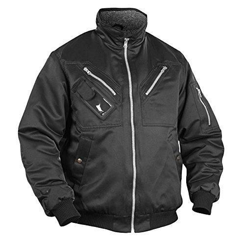 Blakläder Winterjacke Piloten-Look Größe S, schwarz, 1 Stück, 480519009900S