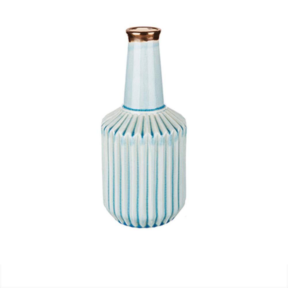 花のための花瓶グリーン植物結婚式の植木鉢の装飾ホームオフィスデスク花瓶花バスケットフロア花瓶 (サイズ さいず : L l) B07R2N6XHT  L l
