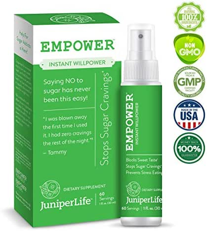 Empower - Stop Sugar Cravings & Addiction to Support Weight Loss & Health | Gymnema Sylvestre