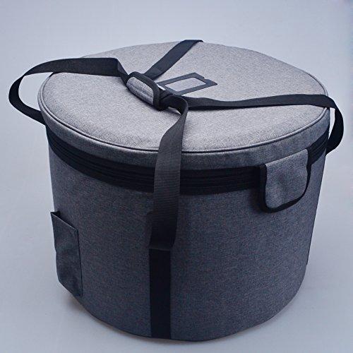 Crystal Singing Bowl Carry Case Travelling Bag For Size 10