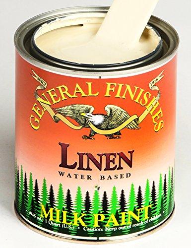 General Finishes Water Based Milk Paint Linen Quart