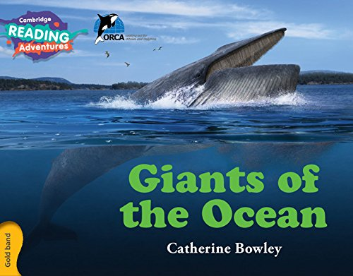 Read Online Giants of the Ocean Gold Band (Cambridge Reading Adventures) PDF