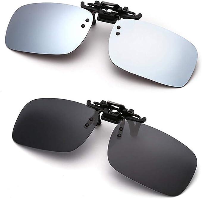 Polarized Clip-on Sunglasses for Men Women