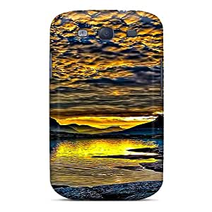 High-end Case Cover Protector For Galaxy S3(sky Of Golden)