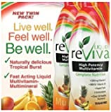 LIQUID reViva® Dietary Supplements Multivitamins Twin Pack