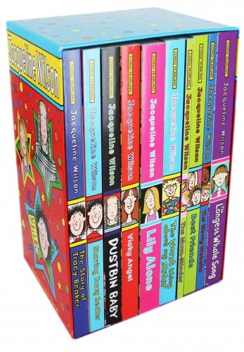 Jacqueline Wilson 10 Book Box Set Collection By Jacqueline Wilson (Jacqueline Wilson The Worst Thing About My Sister)