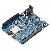 Microcontroller Development Board Based on ESP8266 ESP-12E CH340 WiFi Network Module Expansion Board for UNO R3