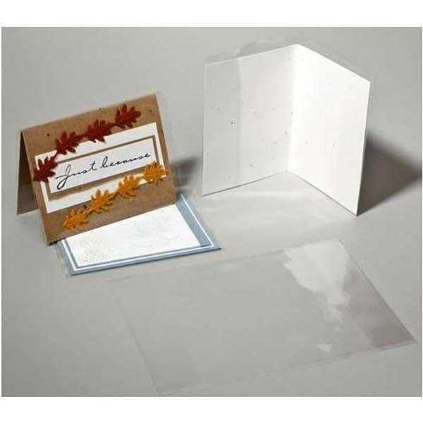 J UNIQUEPACKING 100 Pcs 8 7//8 X 5 15//16 A2+ Card Size Cello//Cellophane Jackets