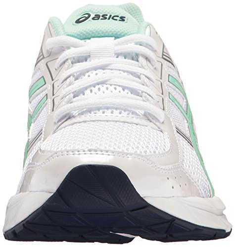 Bay ASICS M Shoe 4 Contend 9 5 Running Women's White Silver US Gel 0TqaOUW0