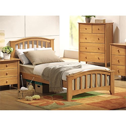 BOWERY HILL Twin Slat Bed in -
