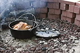 Lodge Deep Camp Dutch Oven, 10 Qt