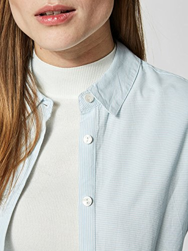 Noos Blouse Femme Skyway Shirt Multicolore White Stripes snow Slfnoella LS FEMME SELECTED XwxqA1IA