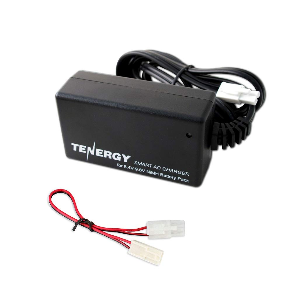 Tenergy Smart Charger For 84v 96v Nimh Battery Packs W Amp Female To 50 Male 18quot Long Flat Cord Arcon Wiring Ar14368 Mini Tamiya Connector Standard Adapter Sports Outdoors