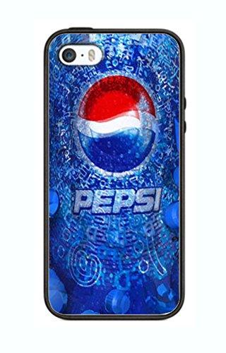 Custodia Pepsi Cola cover per iPhone 5/5S PS20bordo in gomma silicone nero @ Pattayamart