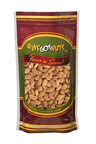 We Got Nuts Jumbo Almonds (Whole, Raw, Shelled, Unsalted)