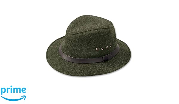 51ce40a8e29c0 Amazon.com  Filson Unisex Wool Packer Hat Forest Green Hat  Sports    Outdoors