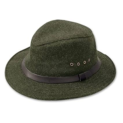 Amazon.com  Filson Unisex Wool Packer Hat Forest Green Hat  Sports ... 7a43627d1b0