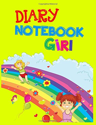Diary Notebook Girl: 8.5 x 11, 108 Lined Pages (diary, notebook, journal, workbook)