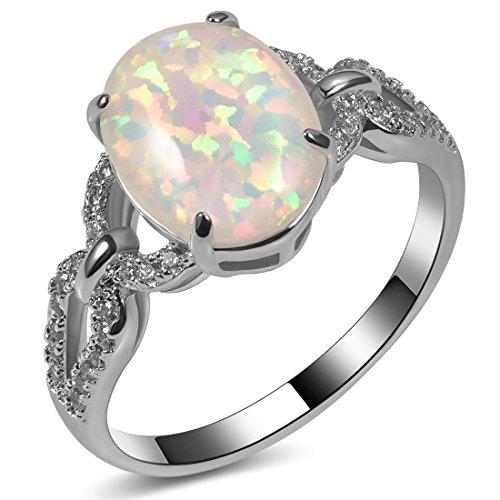 gem stone wedding rings - 7