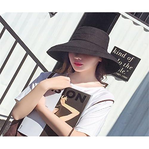 2131306f75 GXSCE Sombrero de pescador de moda, sombrero para el sol, gorra UV neutral  para el verano, ...