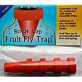 Bottle Cap Fruit Fly Trap (4-pack)
